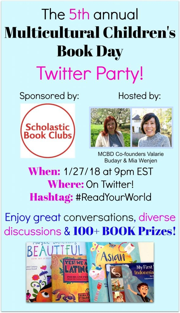 Multicultural Children's Book Day Twitter Party Jan 27