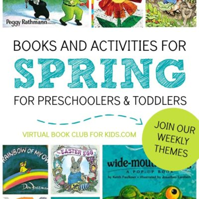 Spring Book List for the Virtual Book Club for Kids
