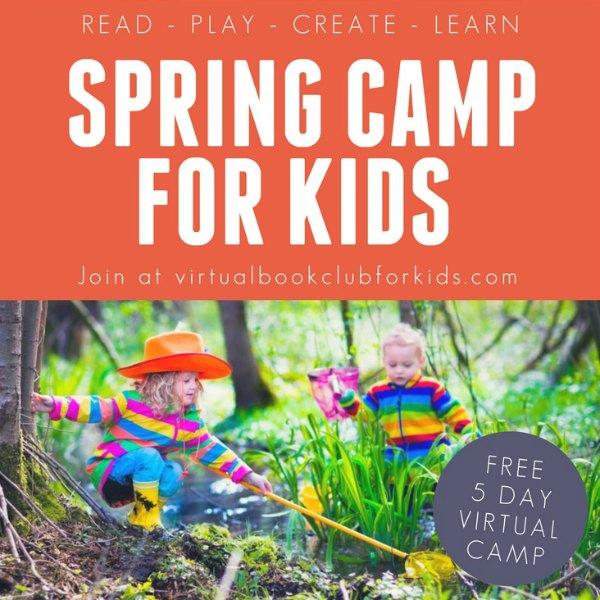 Kids outdoor near pond exploring for spring camp for Kids