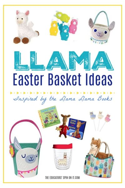 Adorable Llama Easter Basket Ideas for Kids