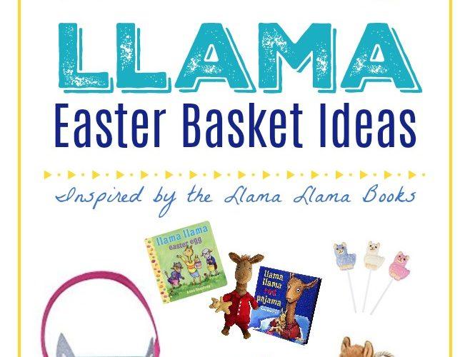 Adorable Llama Easter Basket Ideas for Kids