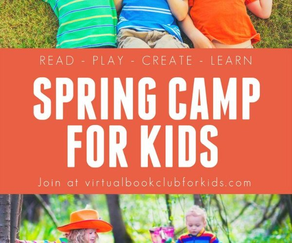 Book Inspired Virtual Spring Camp for Kids