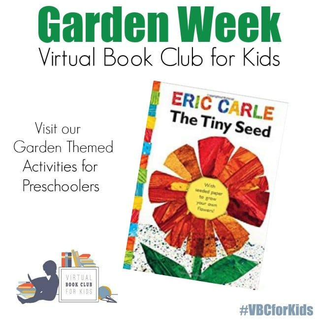 Garden Week VBC Book Preschool Activities