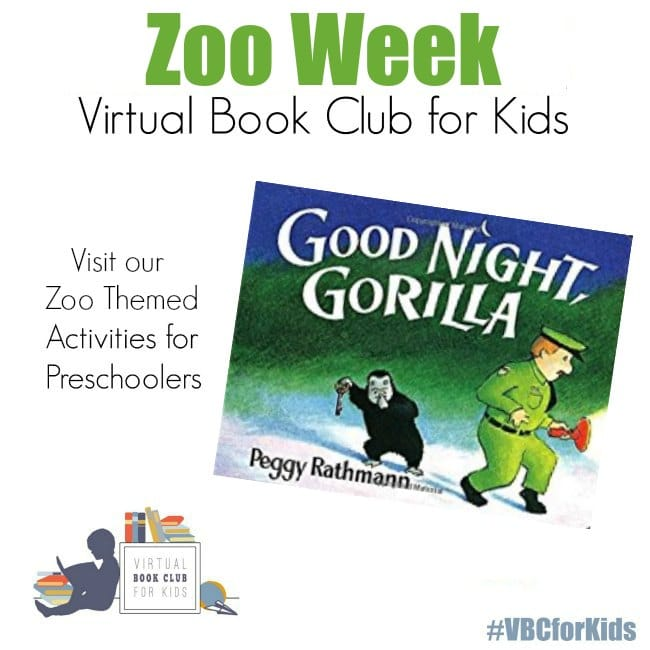 Zoo Week for VBC Book Preschool Activities