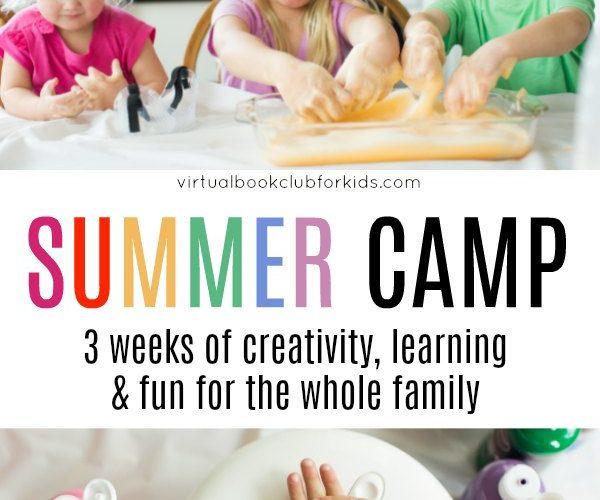 Book Inspired Online Summer Camp for Kids