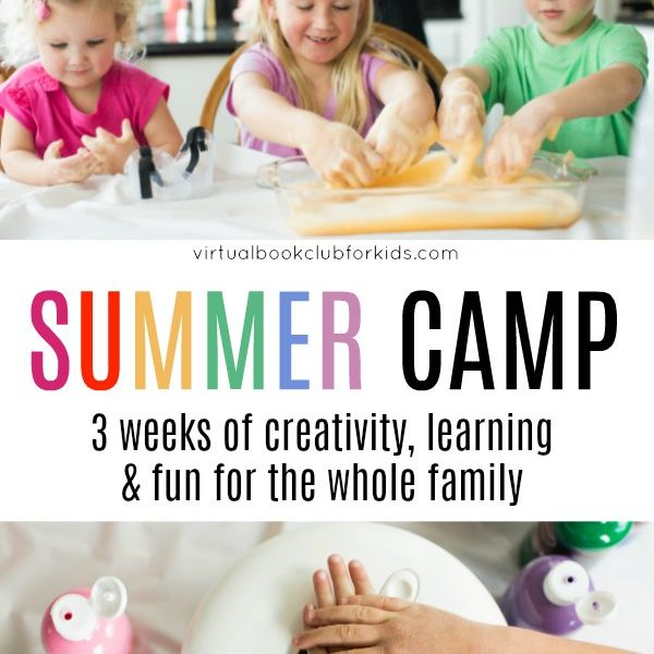 Book Inspired Online Summer Camp for Kids