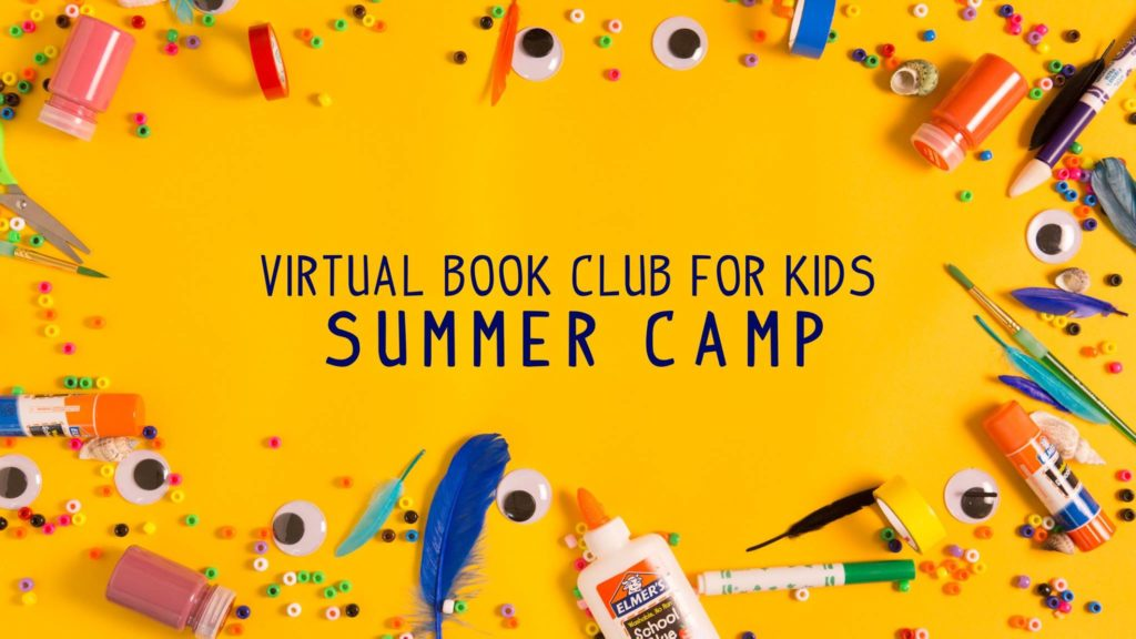 virtual book club summer camp