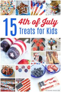 15 4th of July Treats for Kids