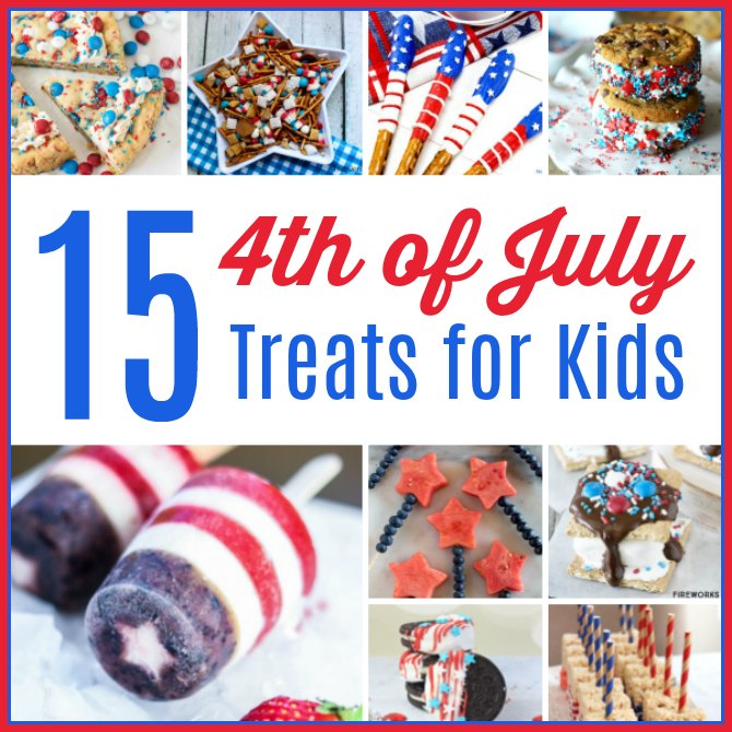 15 4th of July Treats Your Kids will Love