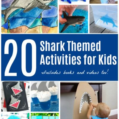 Sharks Themed Activities for Shark Week