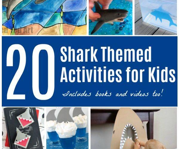Sharks Themed Activities for Shark Week
