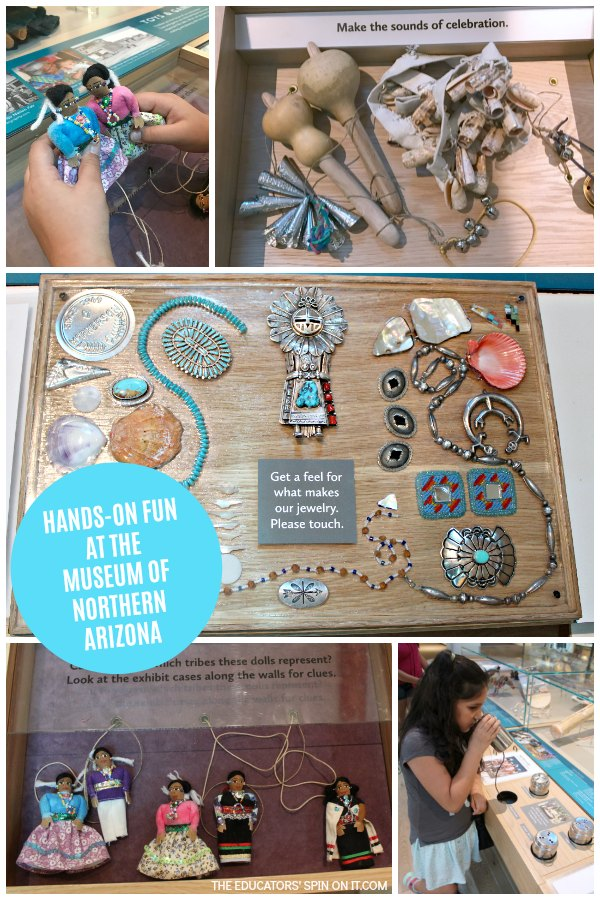 Hands on Exhibits at the Museum of Northern Arizona in Flagstaff, Arizona