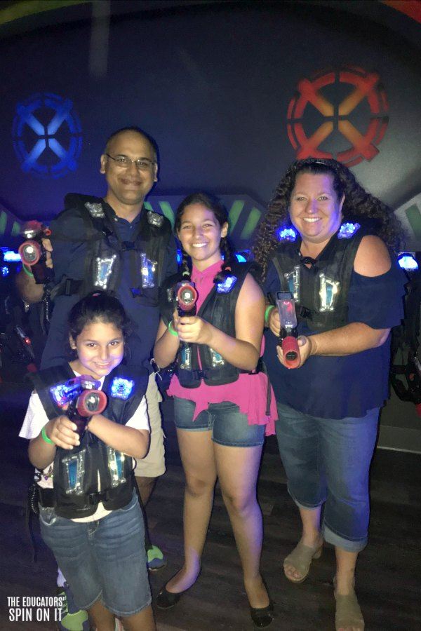 Lazer Tag at Jake's Unlimited