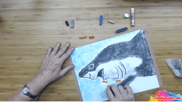 Sharks Video Art Lesson with Nana from You Are An Artist