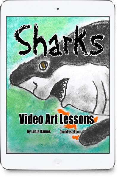 Sharks-Video-Art-Lessons