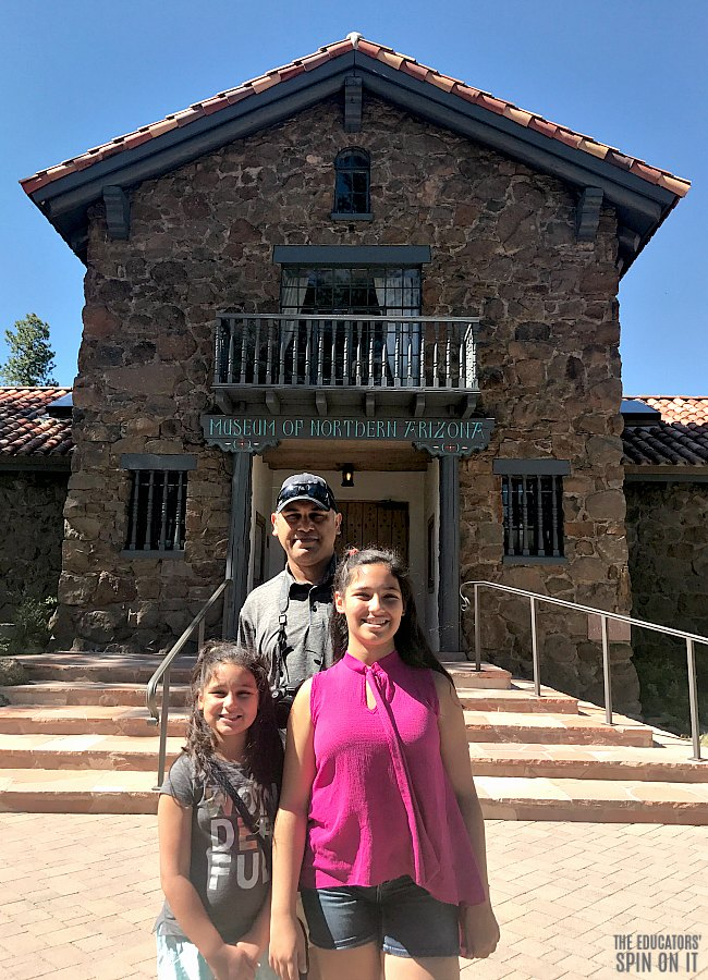 Vij Family Road Trip at the Museum of Northern Arizona
