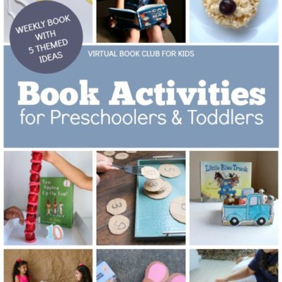 Book Activities for Preschoolers and Toddlers