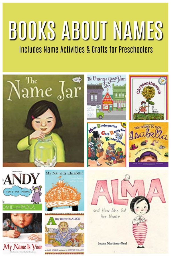 Children's Books about Names