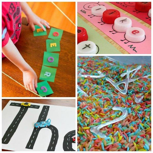 Fun and Easy Name Activities for Preschoolers