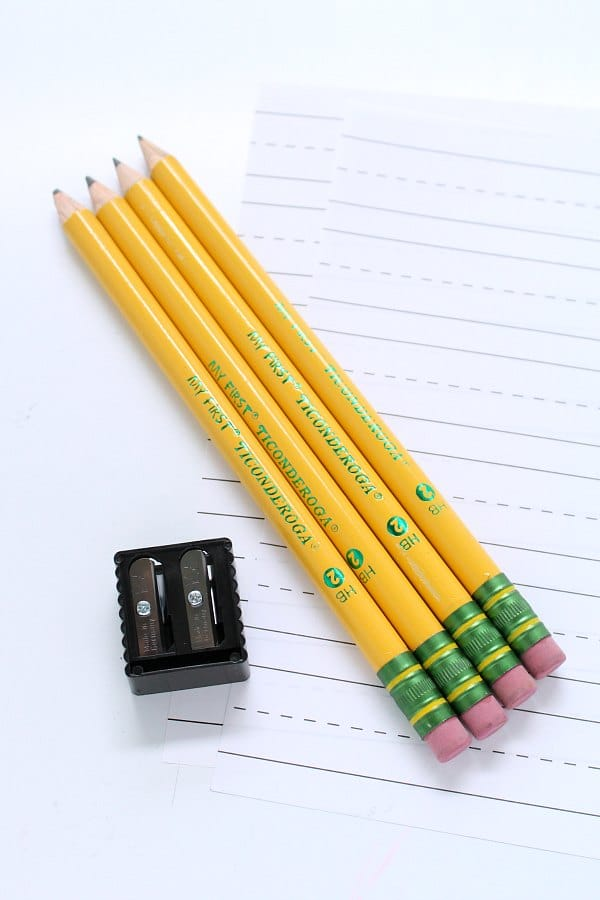 My First Pencil by Ticonderoga Pencils for Beginning Writers