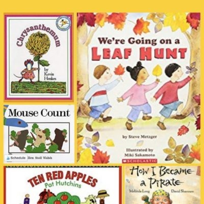 September Read Aloud Books for Preschoolers and Toddlers