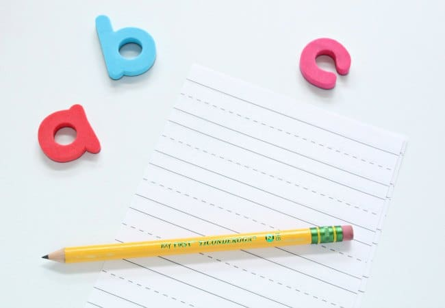 Teaching Handwriting Skills to Children with beginner pencils
