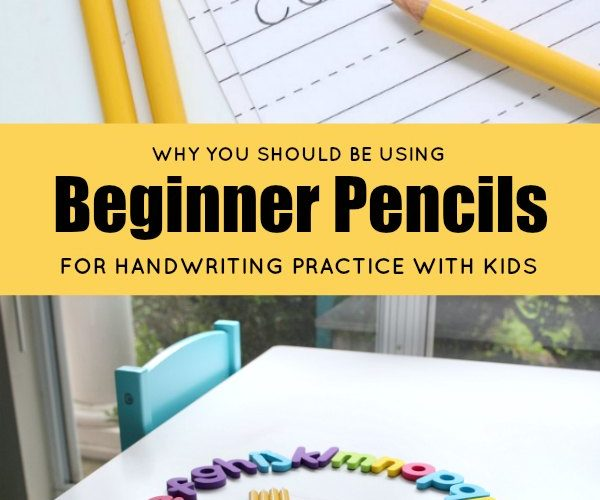 Why You Should be Using Beginner Pencils from Ticonderoga Pencils for Handwriting Practice with Kids