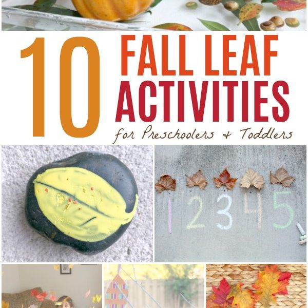 10 Easy Fall Leaf Activities for Preschoolers and Toddlers