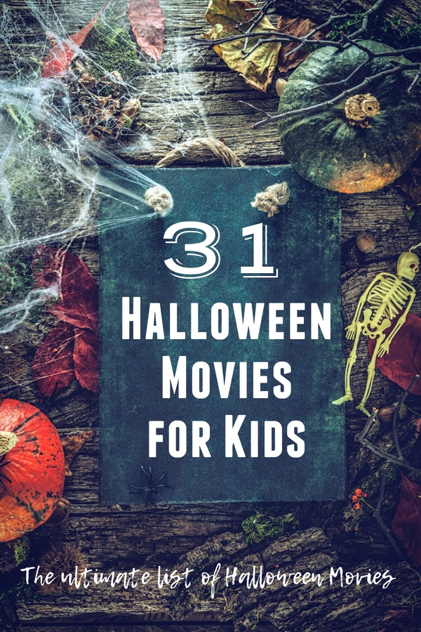 31 Halloween Movies for Kids