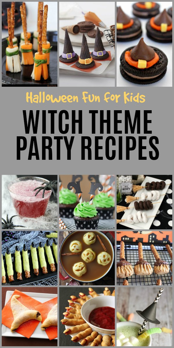 Halloween Fun for Kids with Witch Theme Party Recipes