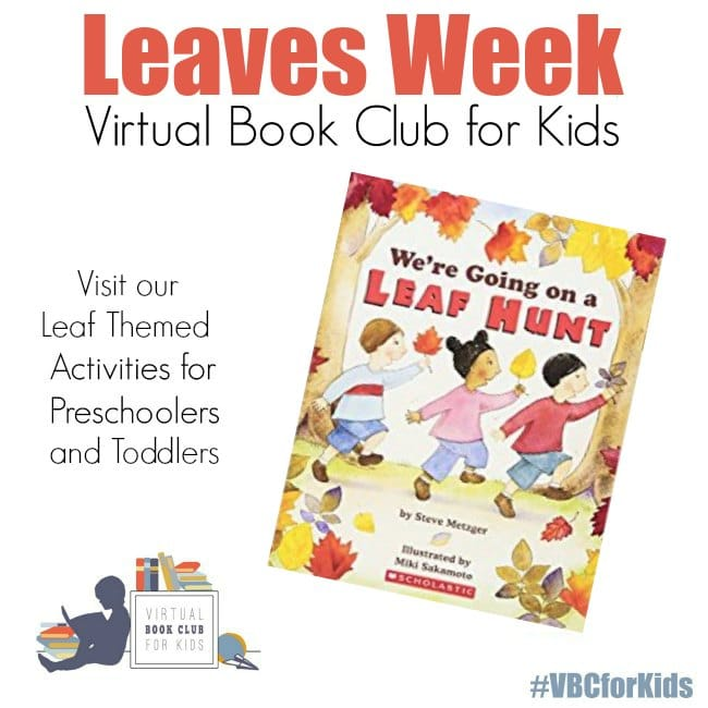 Leaves Week at the Virtual Book Club for Kids