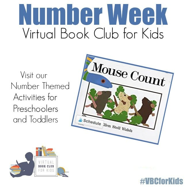 Number Themed Activities featuring Mouse Count Book Activities for Preschoolers and Toddlers
