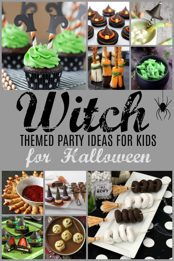 Witch Themed Party Food Ideas for Kids for Halloween