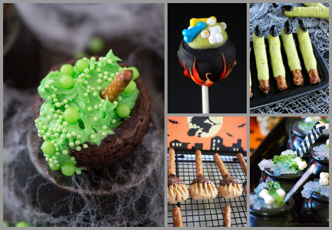 Witch themed Party recipes for Halloween with Kids