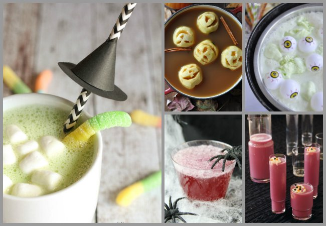 Witch's Brew Punch Ideas for Kids for Halloween