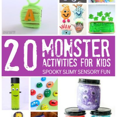 20 Spooky Fun Monster Activities for Kids