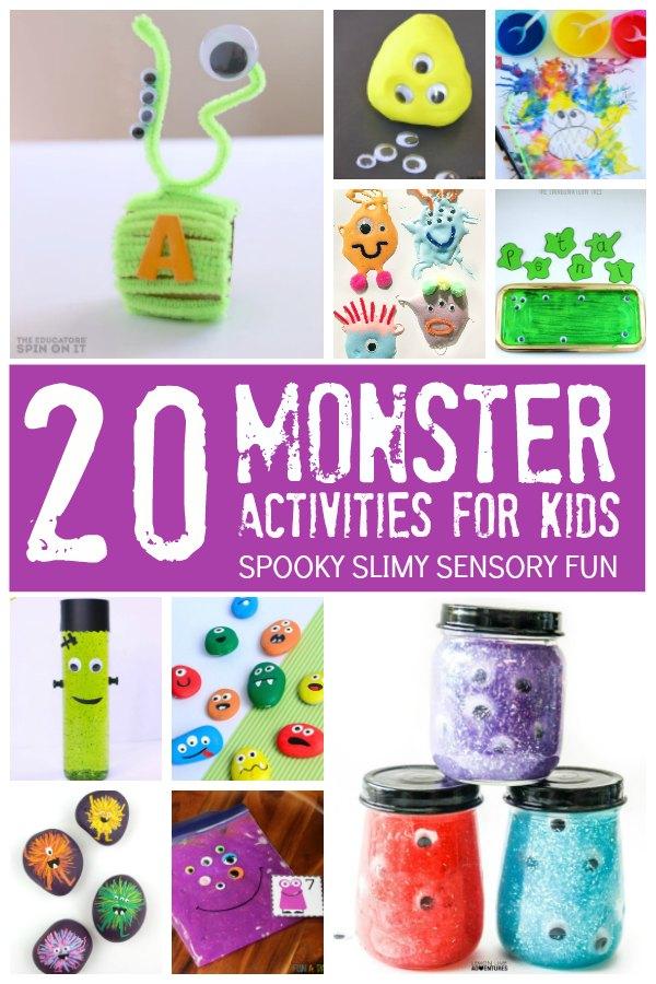 20 Monster Activities for Kids