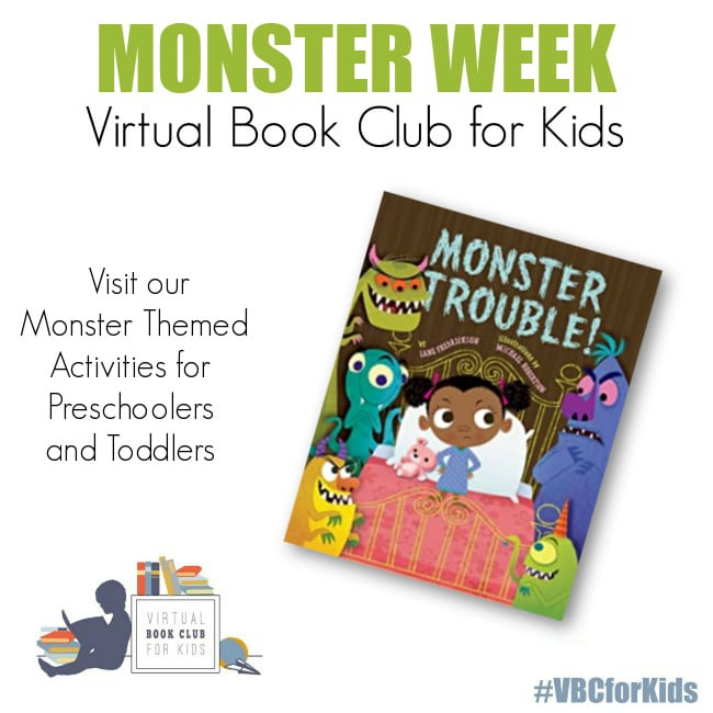 monster week featuring the book Monster Trouble