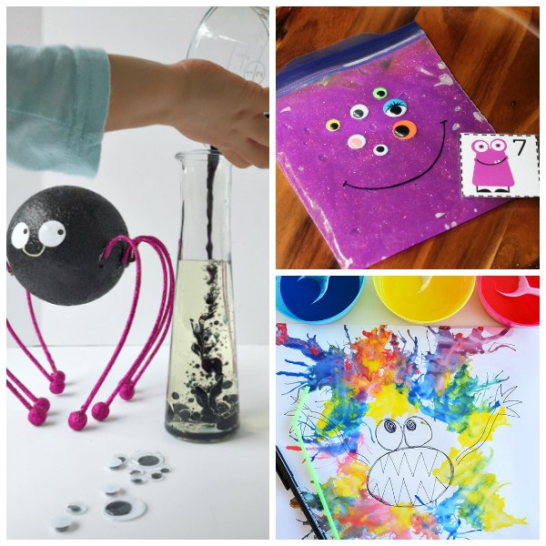 Spooky Monster Themed Activities for Kids