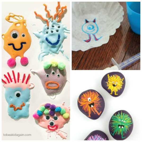 Spooky Silly Monster Themed Activities for Kids