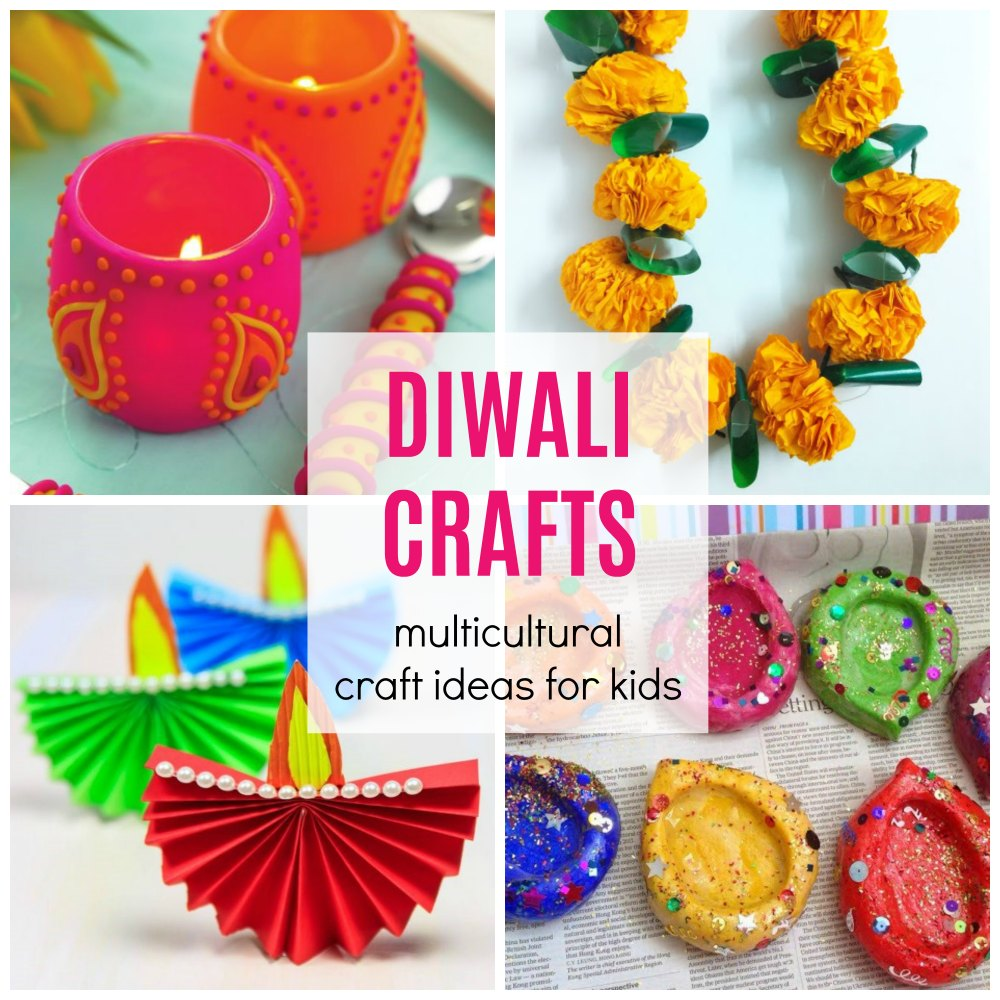 Easy Diwali Crafts for Kids