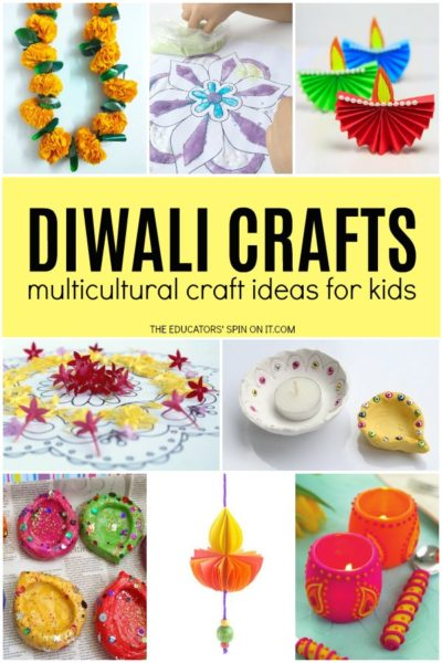 Easy Diwali Crafts for school