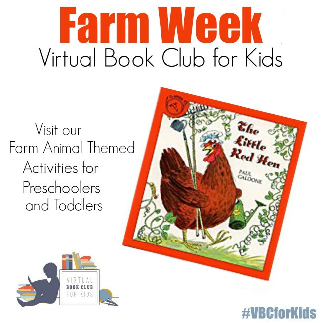 Farm Animal Week Activities from the Virtual Book Cub for Kids for Preschoolers and Toddlers