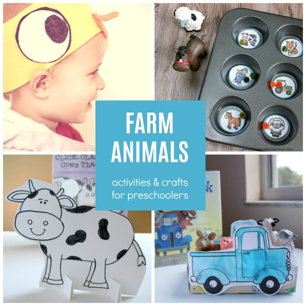 Farm Animals Activities And Craft Ideas For Preschoolers And