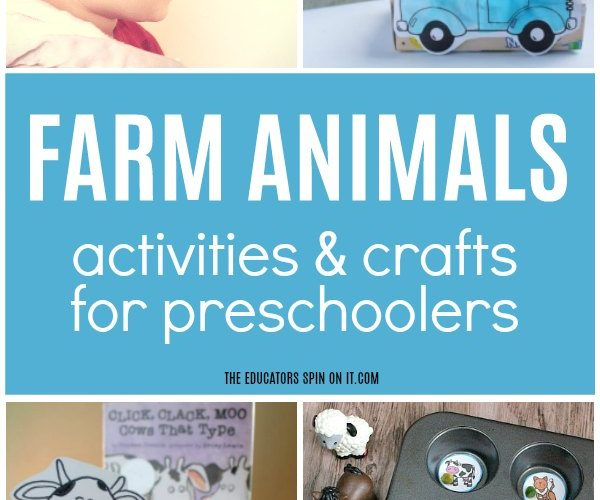 10 Adorable Farm Animals Themed Activities for Preschoolers