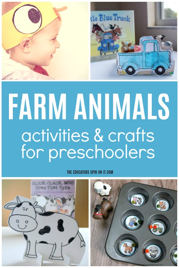 Farm Animals Activities and Crafts for Preschoolers