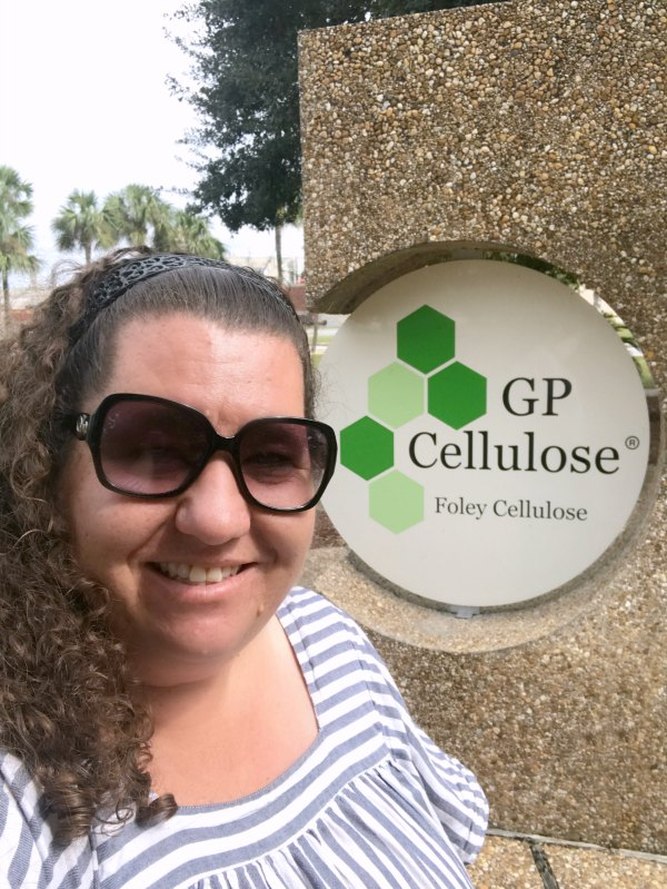 Kim Vij at Georgia-Pacific Foley Cellulose