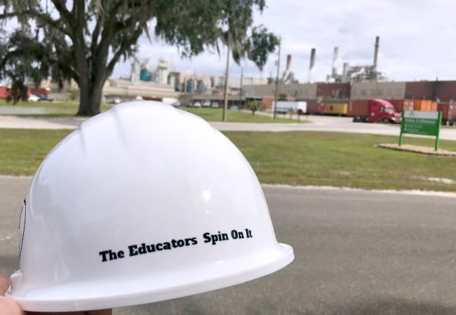 The Educators' Spin On It at Georgia-Pacific Foley Cellulose in Perry Florida