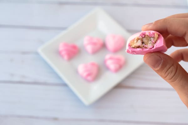 How to make Heart Shaped Cake Balls for Valentines' Day Candy Treat