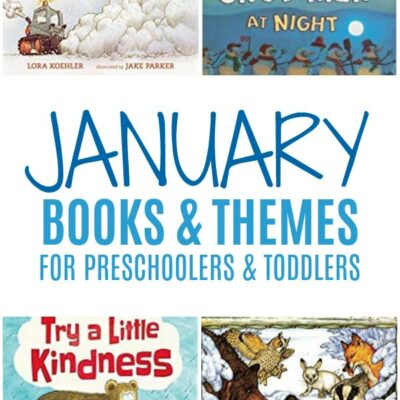 January Books for Your Preschooler